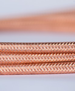 Retro kabel Metallic Rose Gold