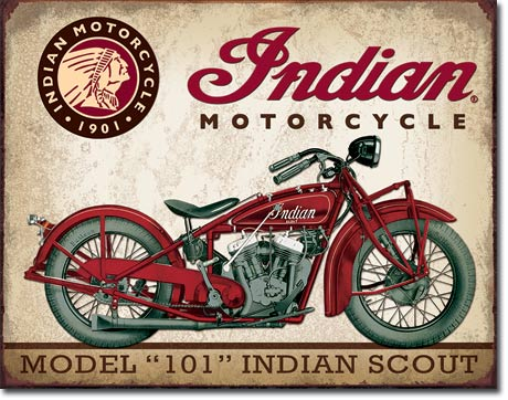 Indian Motorcycle model 101