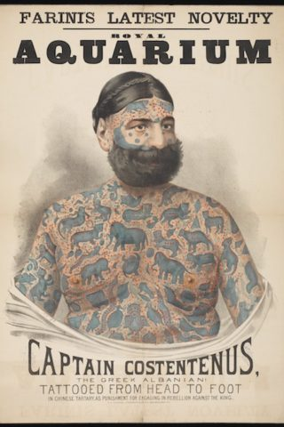 Tattooed Man – Captain Costentenus