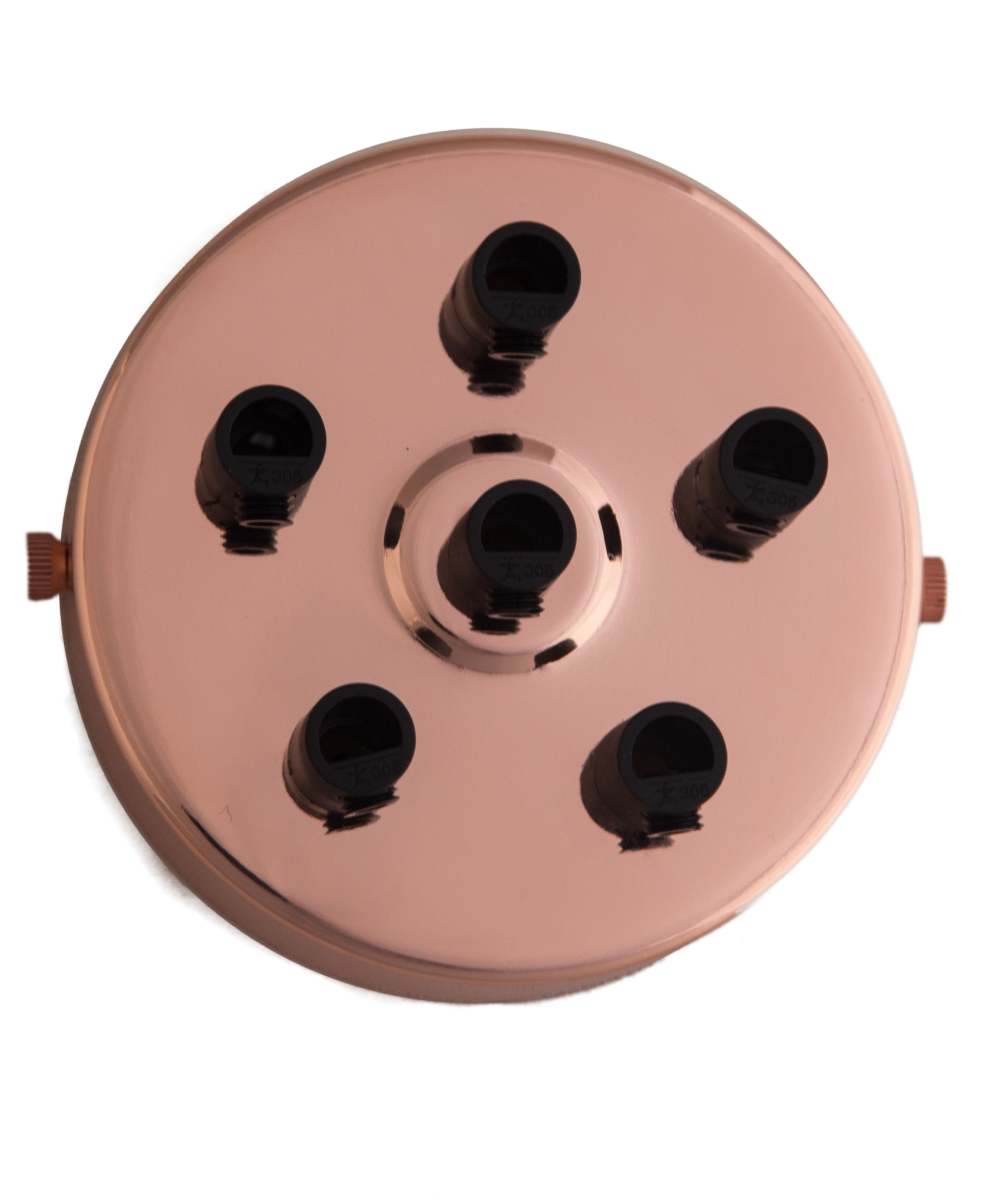 Baldachýn Industrial Multi Cabel (1 - 9 otvorů) Rose Gold