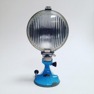Car lamp blue