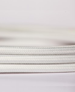 Retro kabel Pure White