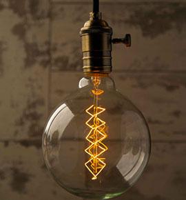 Vintage Edison žárovky